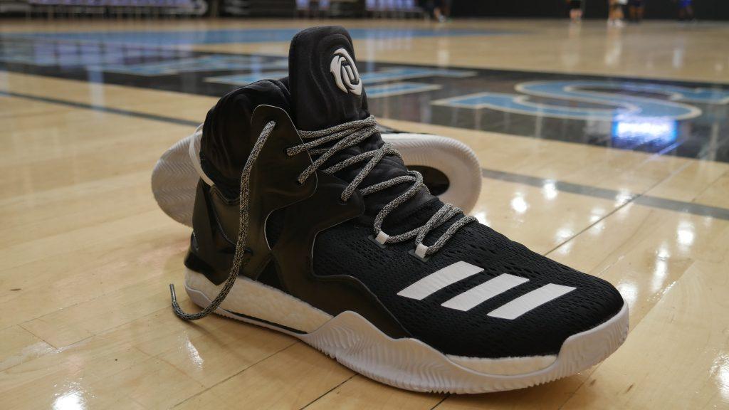 Adidas DRose7 - Materials
