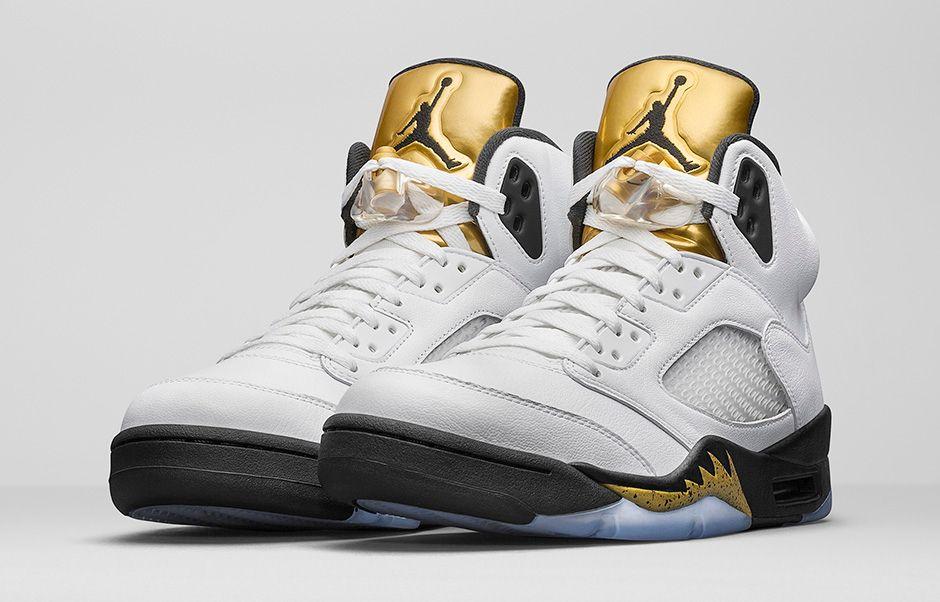 Air Jordan 5 Retro Gold Medal 1