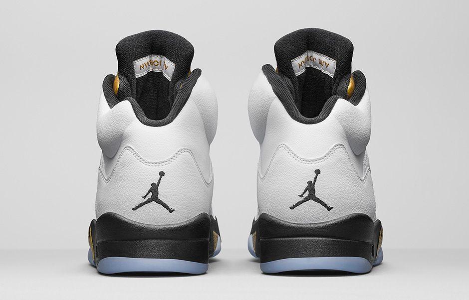 Air Jordan 5 Retro Gold Medal 3