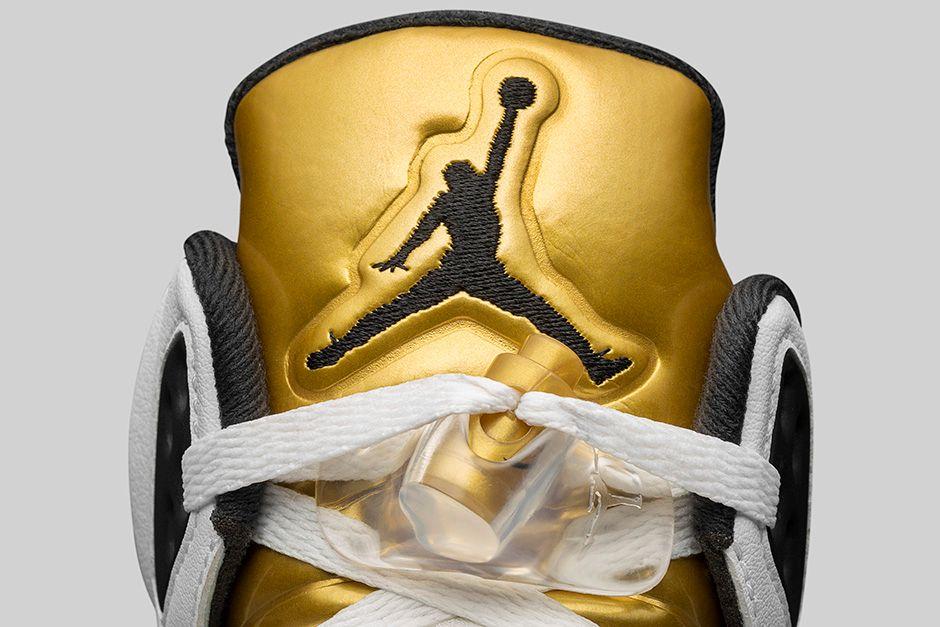 Air Jordan 5 Retro Gold Medal 6
