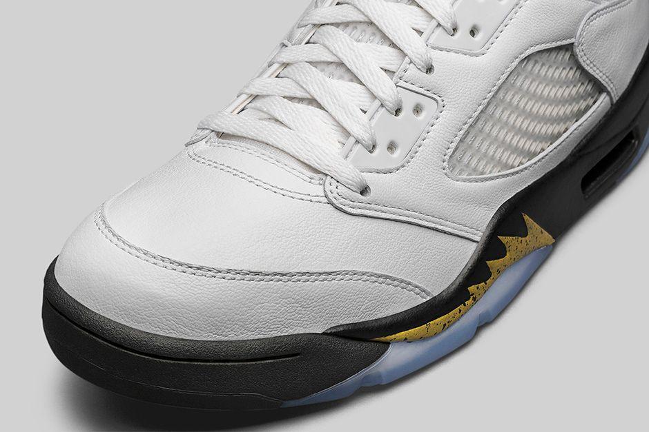 Air Jordan 5 Retro Gold Medal 7