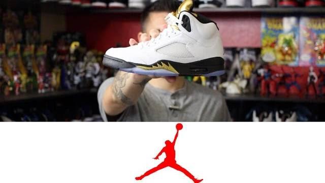 Air Jordan 5 Retro White: Metallic Gold | Detailed Look and Review