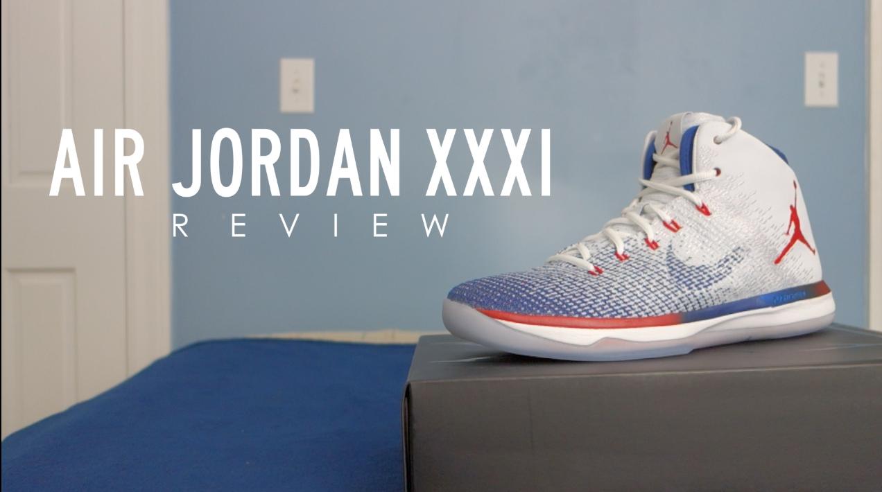 Air Jordan XXXI Quick Review 1