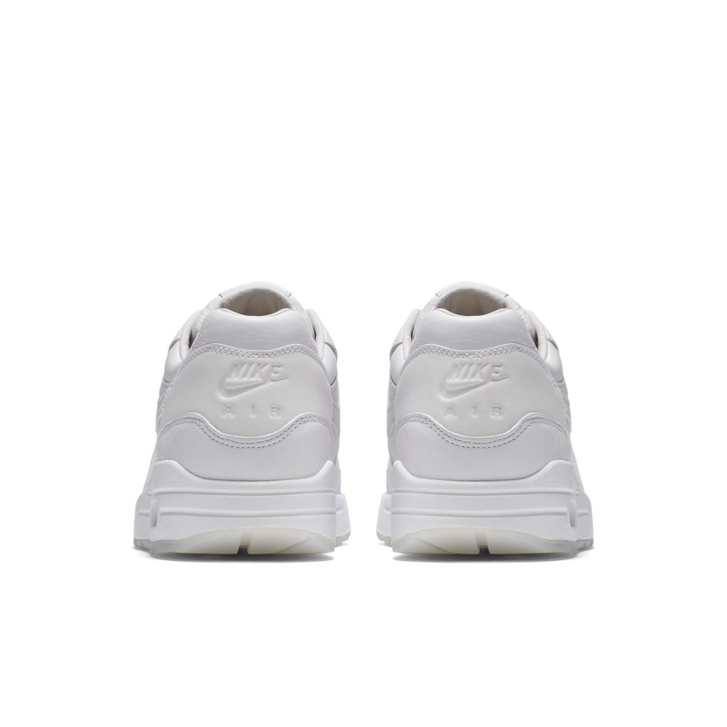Air Max 1 Pinnacle - White - Heel
