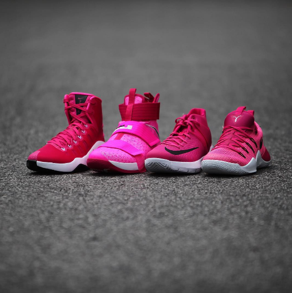 Check out Nike Basketball's Breast Cancer Awareness Pack-1