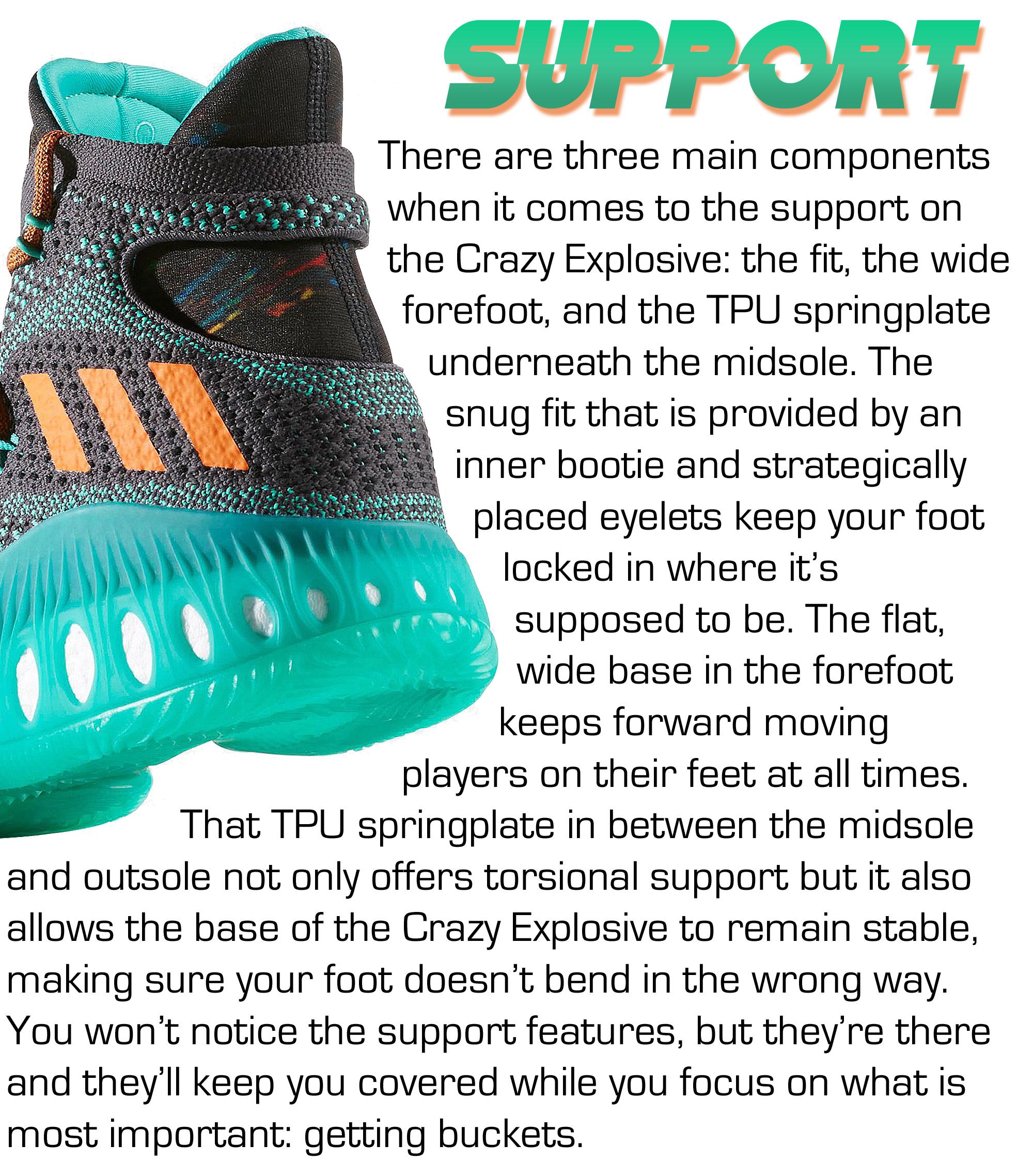 Crazy Explosive - Support