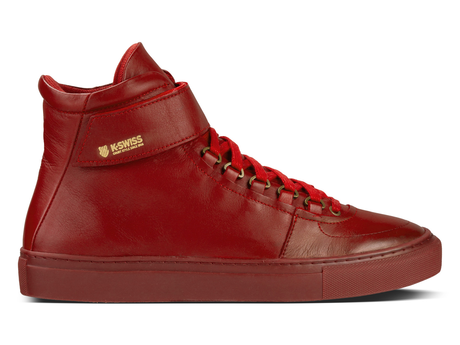 K-SWISS modern court collection High Court Red