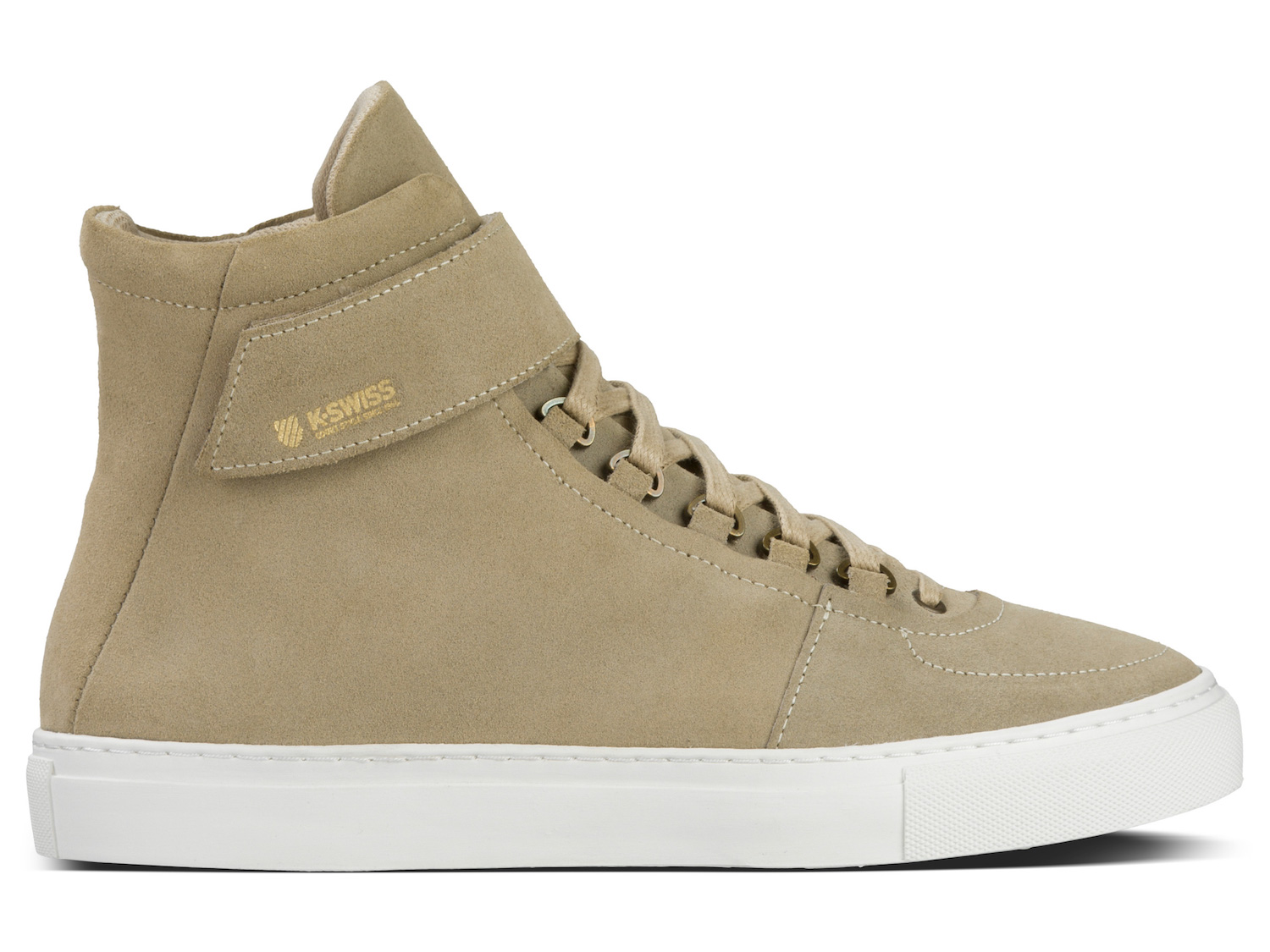 K-SWISS modern court collection High Court Sand:Off White