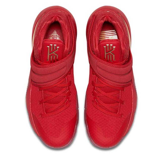 Nike Kyrie 2 Gold Medal 4
