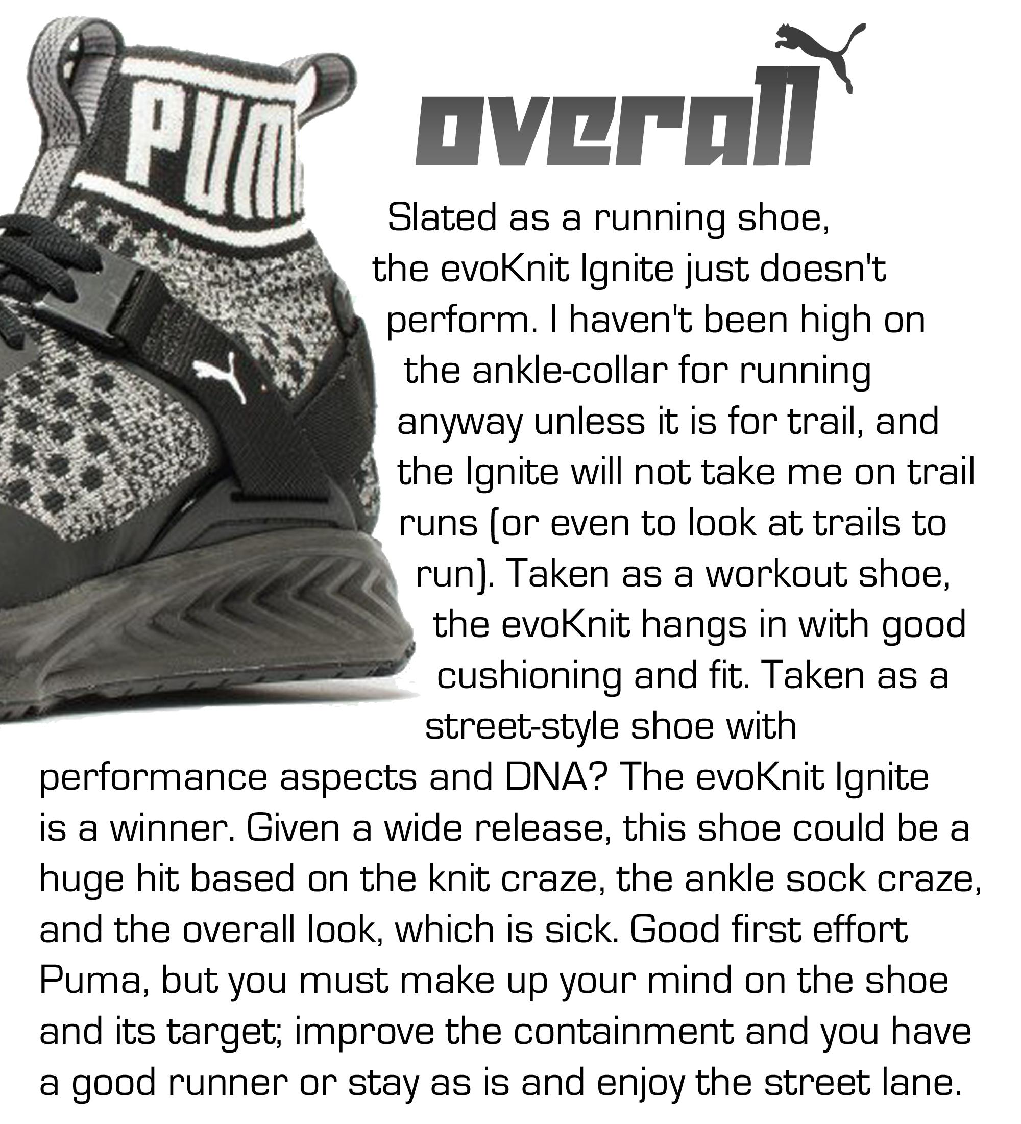 PUMA evoknit Ignite performance review 4
