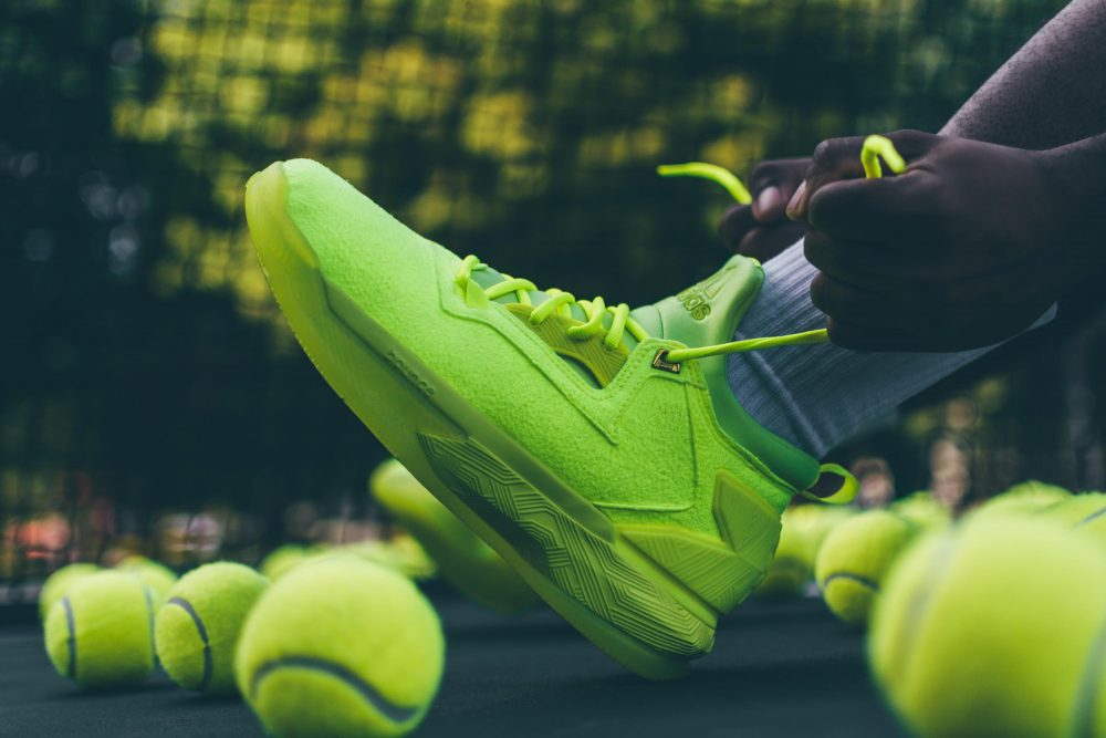 adidas Basketball Unveils the New D Lillard 2 Tennis Ball Edition 1