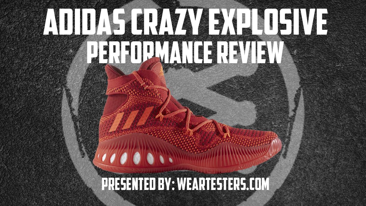 adidas Crazy Explosive Primeknit Performance Review