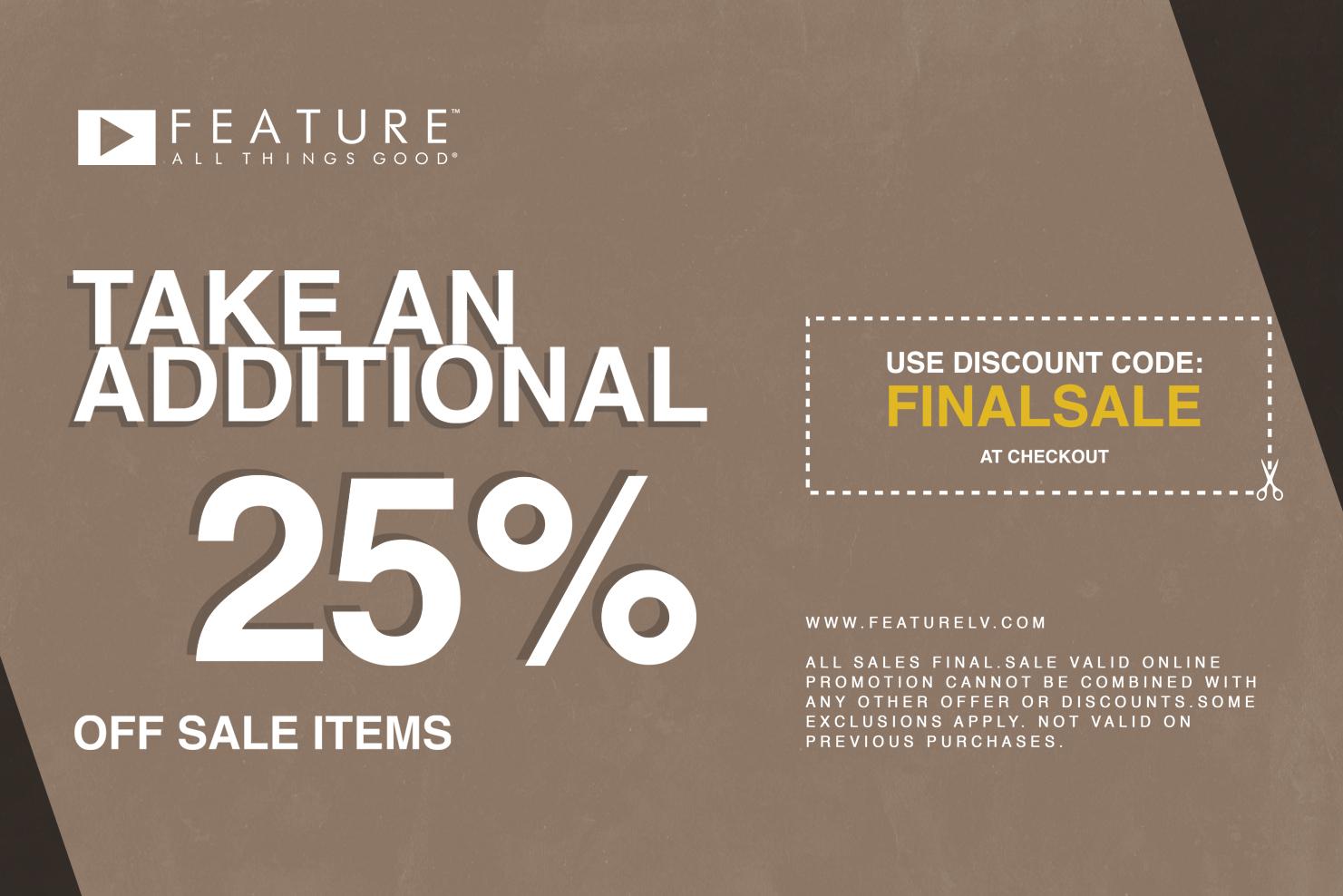 feature sale