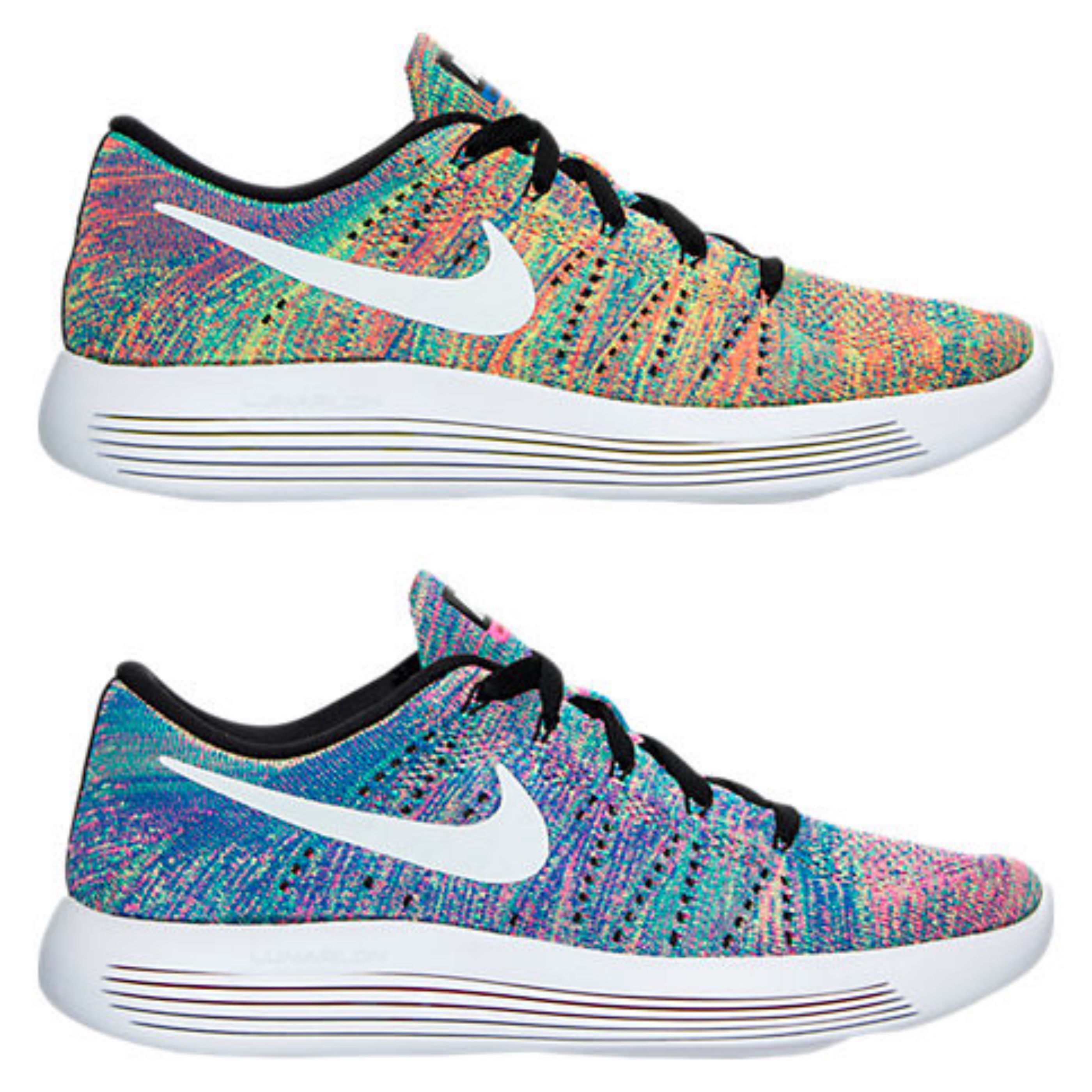 nike flyknit lunarepic multicolor mens womens