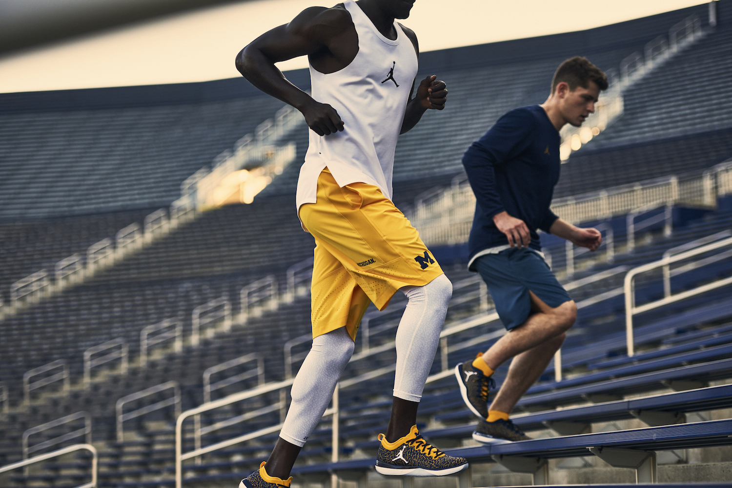 university of michigan jordan brand 1