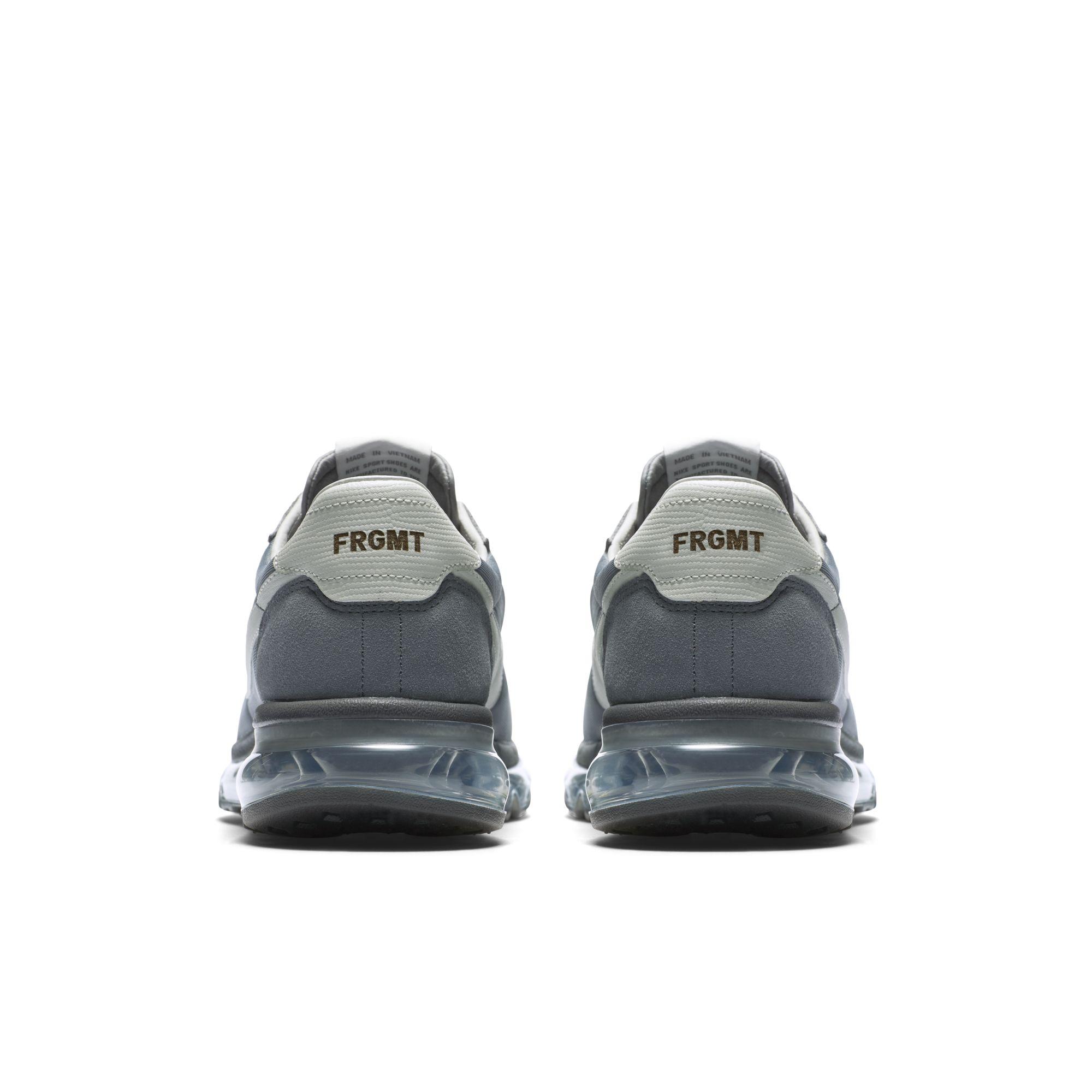 Air Max LTD 0 Fragment  – Grey – Heel