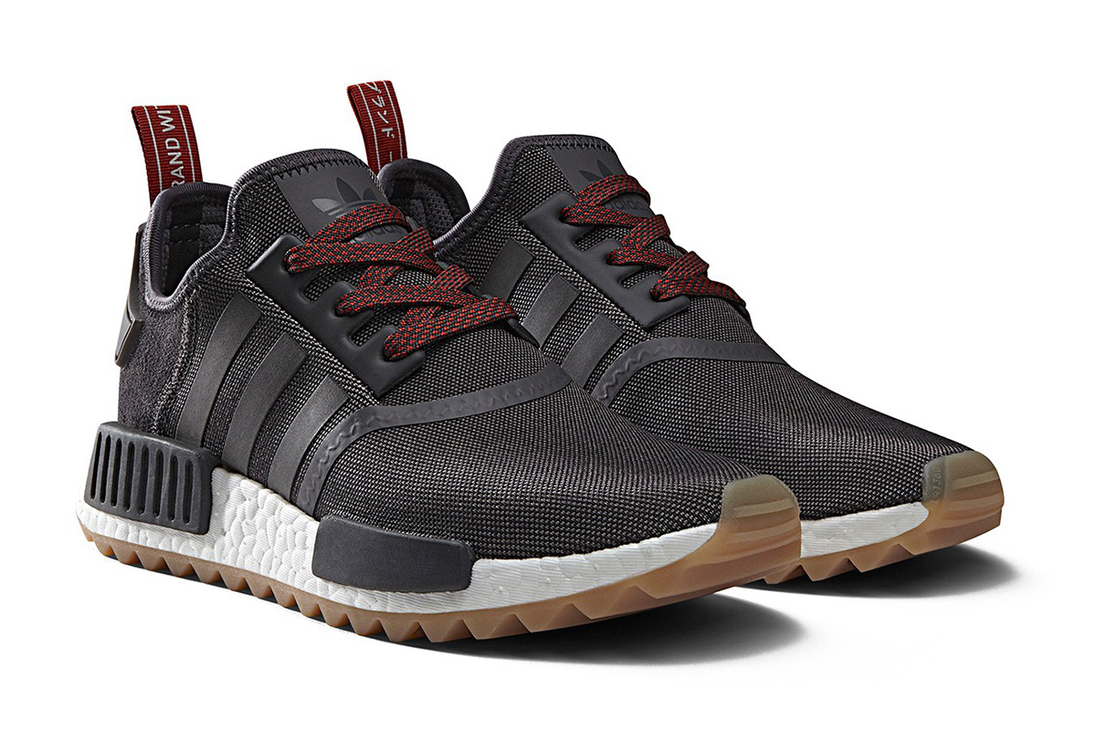 2016 Neu Schwarz Adidas Originals NMD R1 Adidas Damen Schuhe