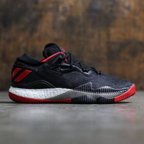 adidas CrazyLight Boost 2016 Black Scarlet | Available Now