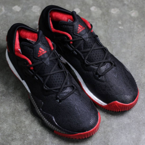 adidas CrazyLight Boost 2016 Black Scarlet   Available Now