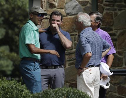 Barack Obama Kevin Plank