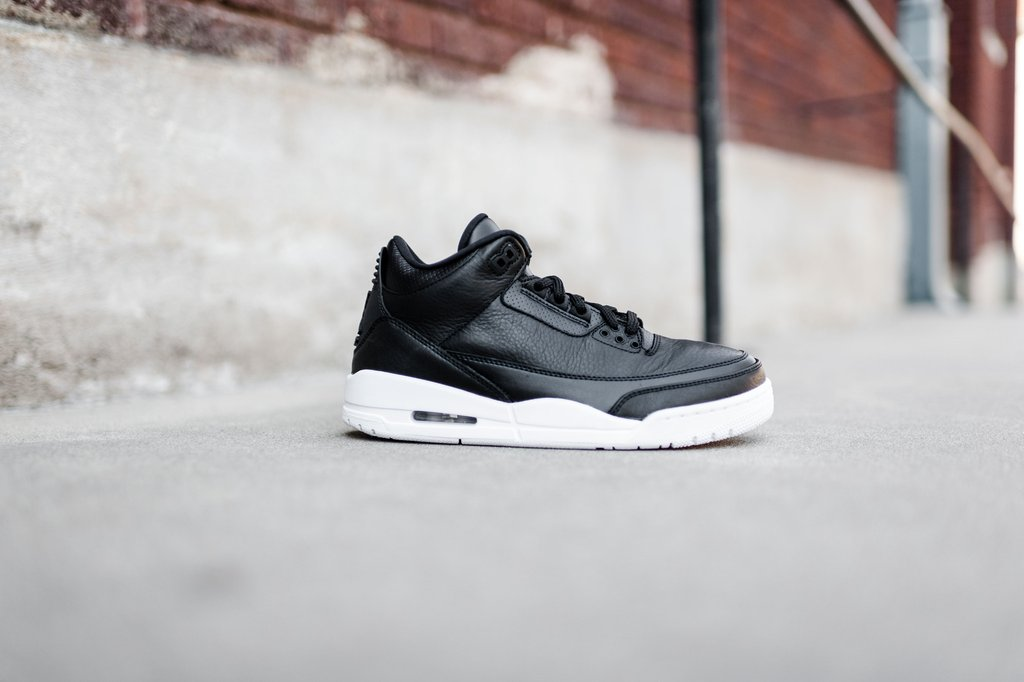 Nike Air Jordan 3 III Retro (BG) Cyber ??Monday Schwarz Weiß