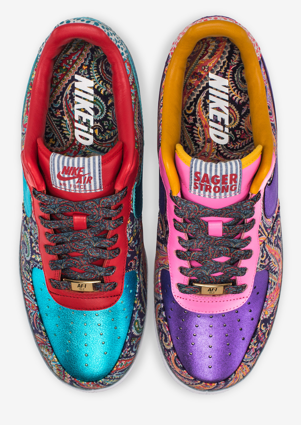 sagerstrong nike air force one 3