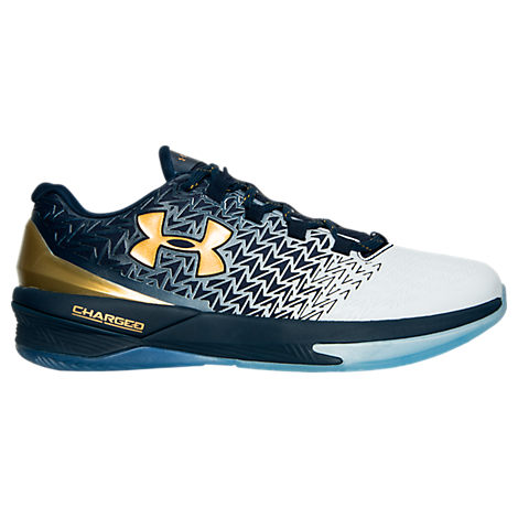 under armour clutchfit drive 3 low navy white gold 1