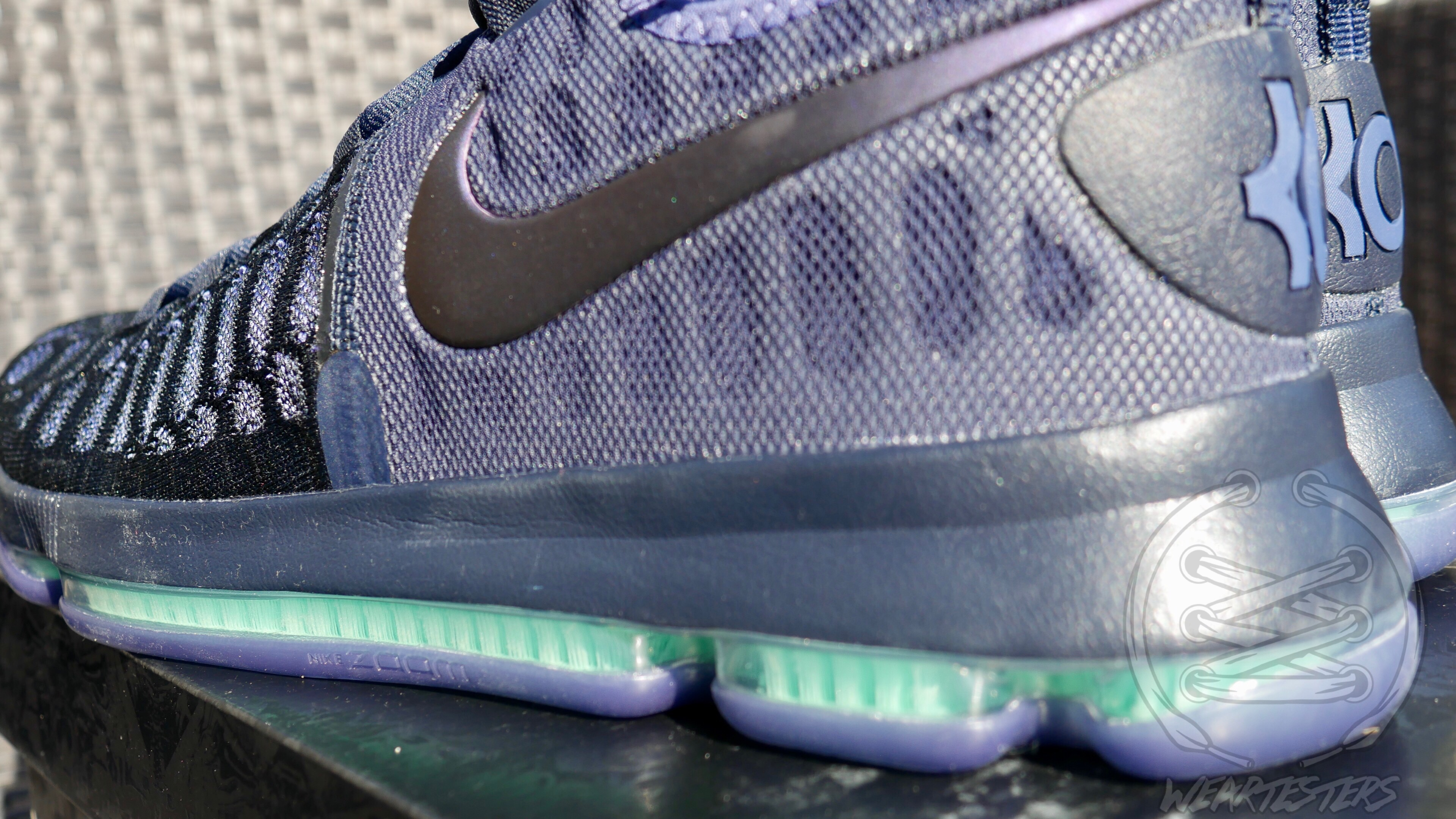 Nike Zoom KD9 Dark Obsidian - Back Side