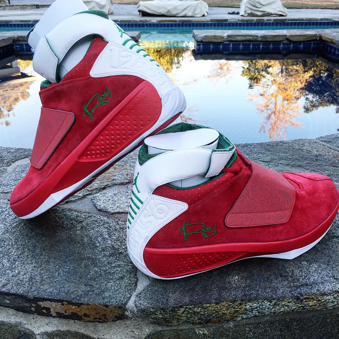 Air Jordan 23 - Christmas PE Seattle Supersonics