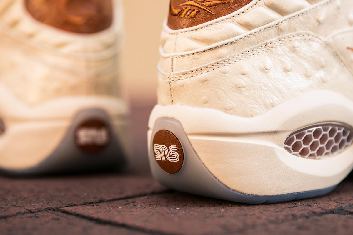 Sneakersnstuff x Reebok Question Mid Lux 5