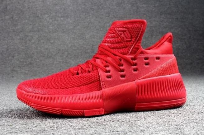 adidas d lillard 3 red 4 - WearTesters