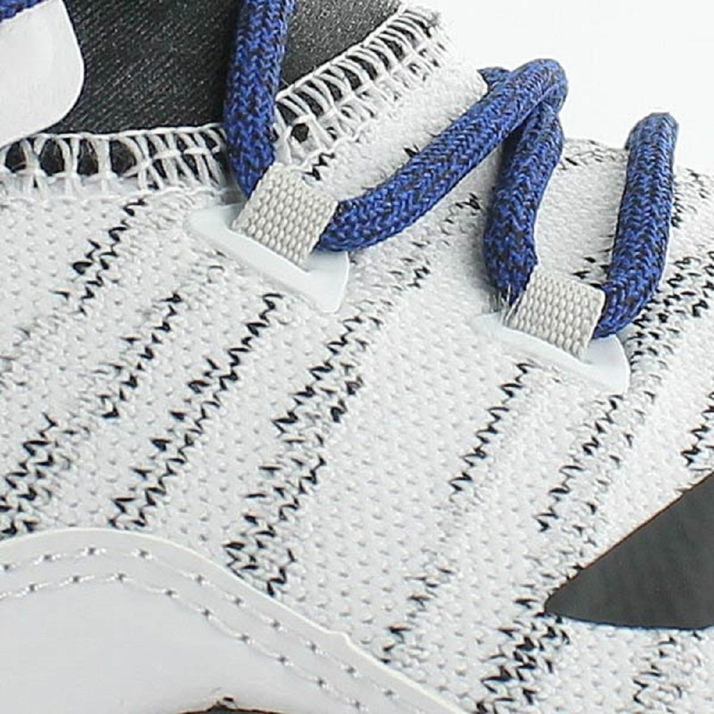 d rose 7 primeknit white/royal