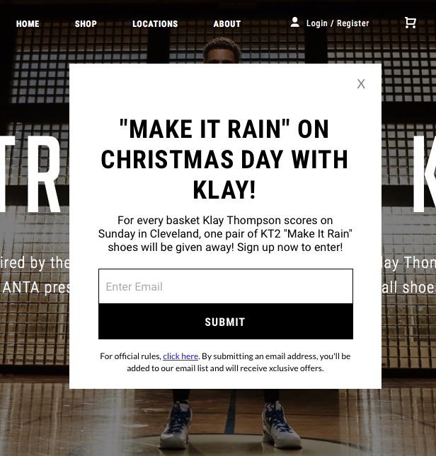 ANTA Klay Giveaway