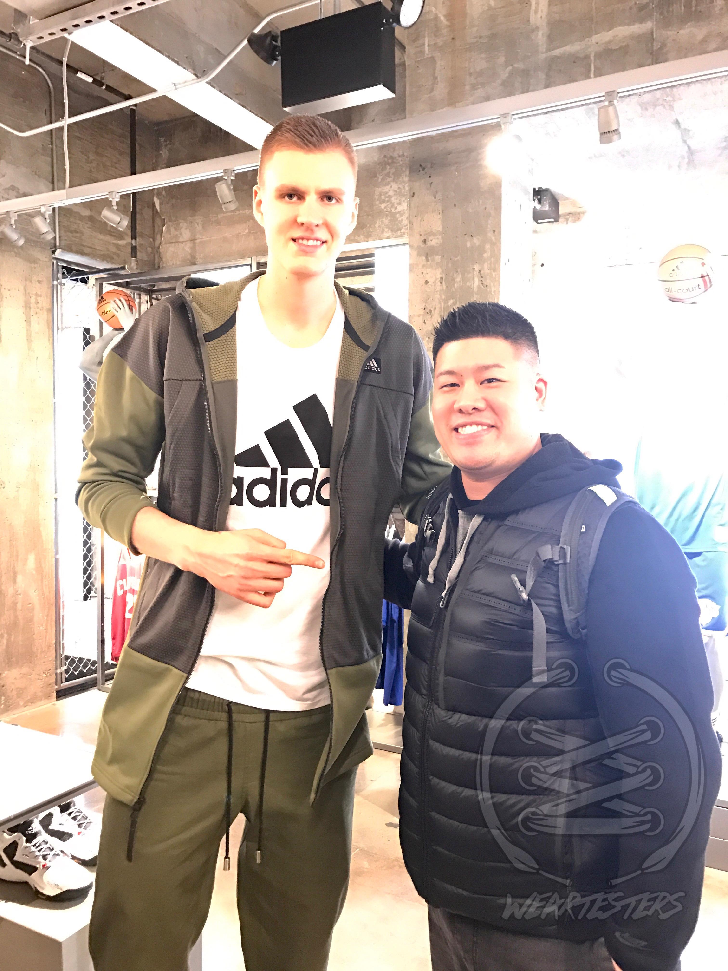 Adidas NYC - Kristaps Porgingis and NYJumpman23