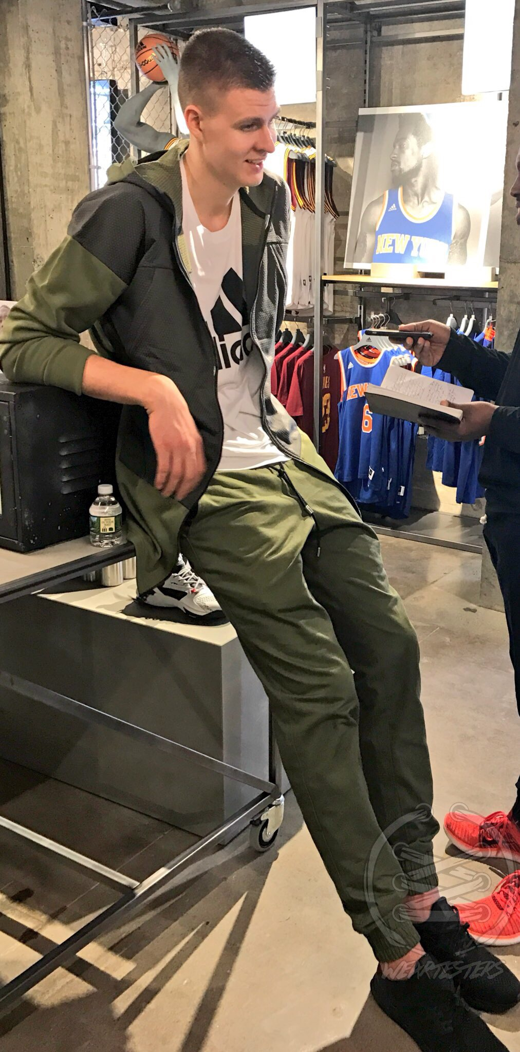 Adidas NYC - Kristaps Porgingis