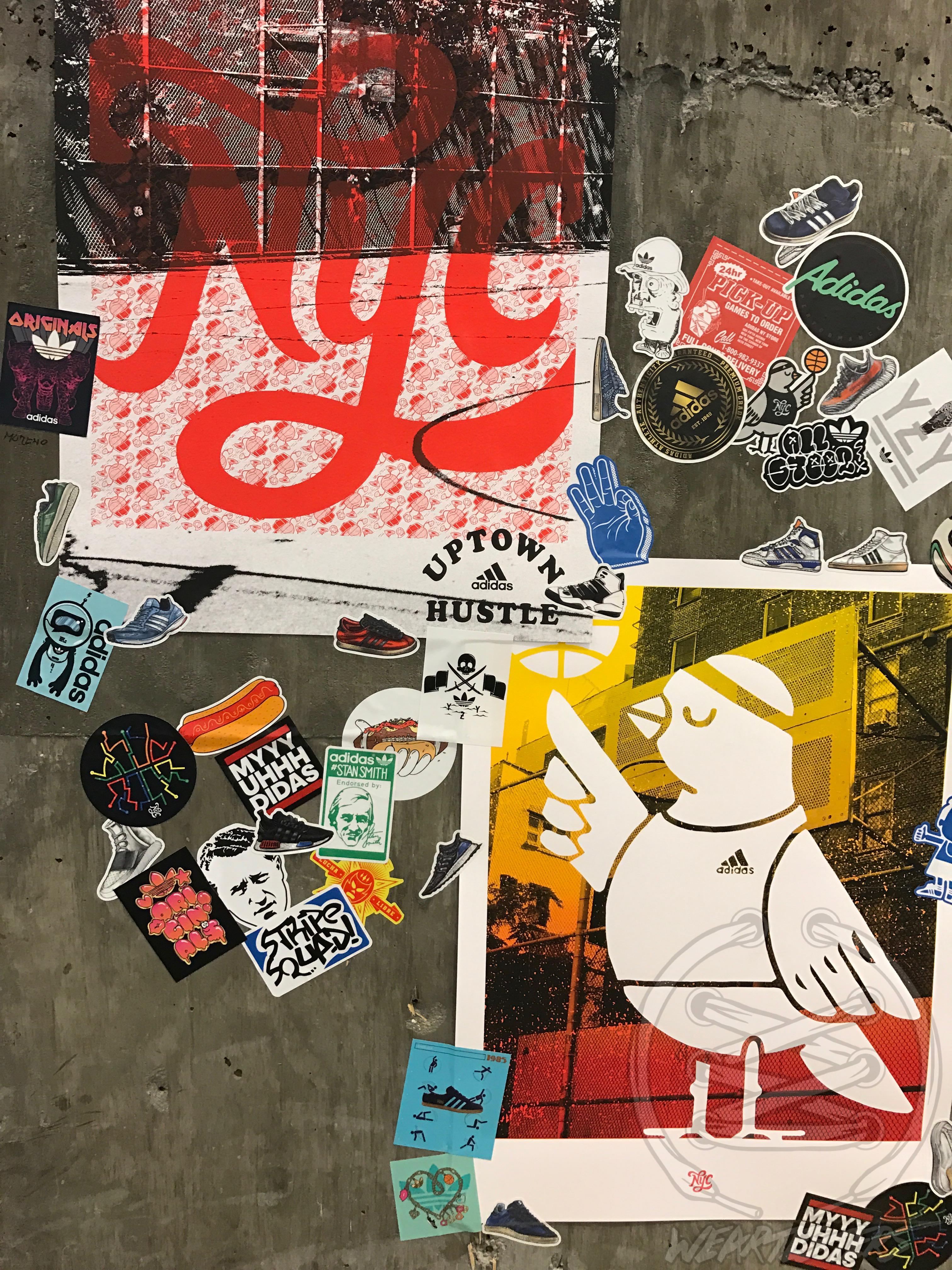 Adidas NYC - Wall Print