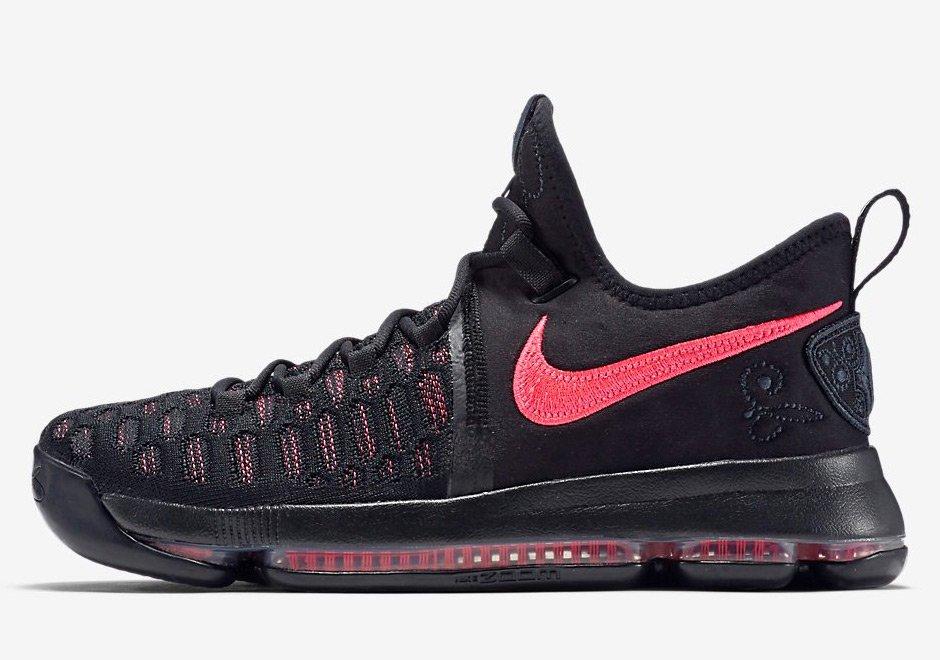 Nike KD9 - Auntie Pearl Side