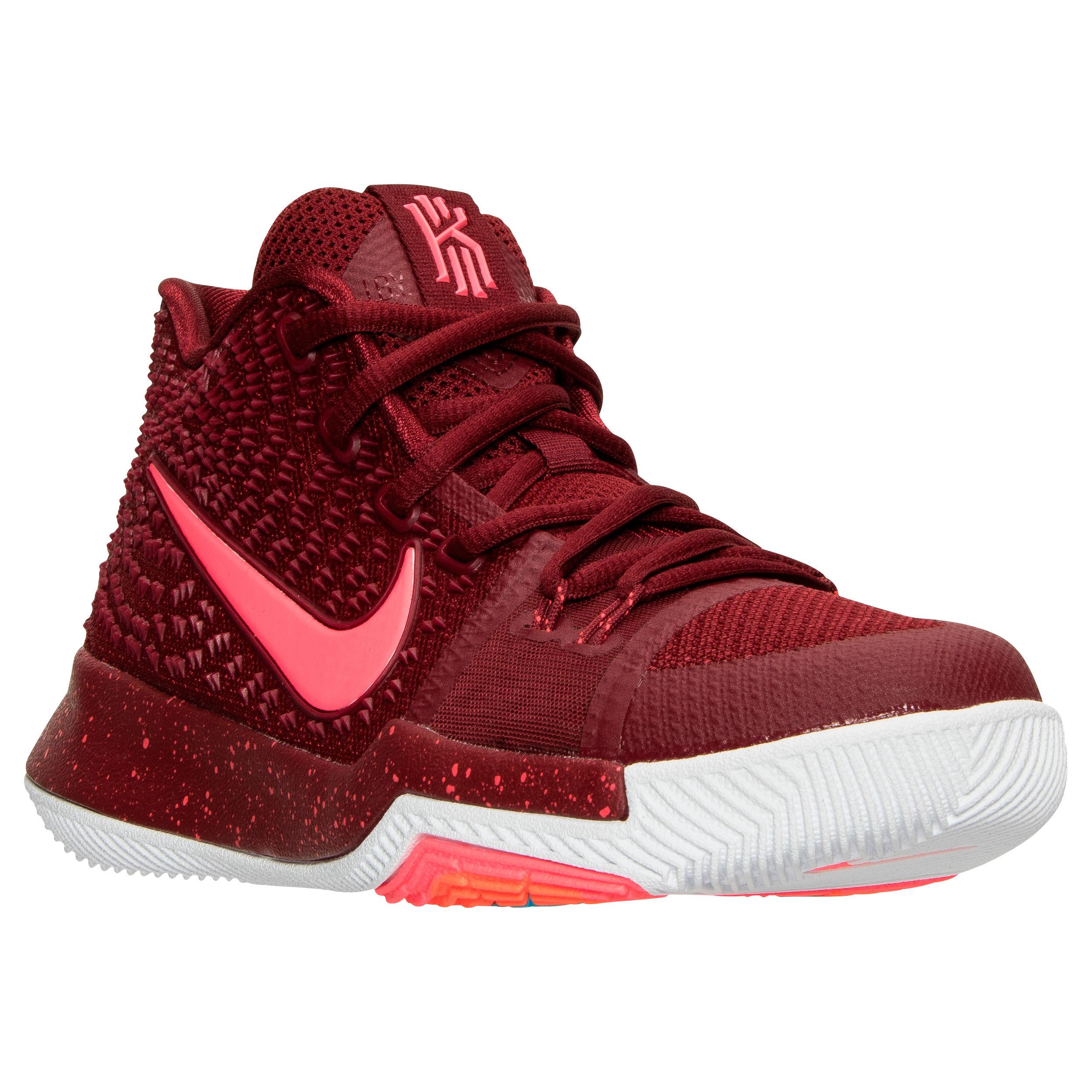 Nike Kyrie3 – Angle – Team Red Total Crimson