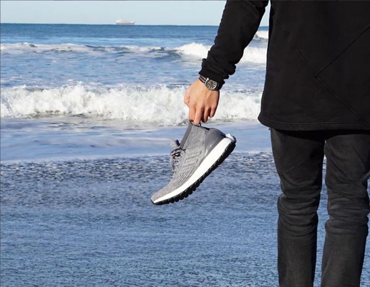 adidas ultra boost mid on feet