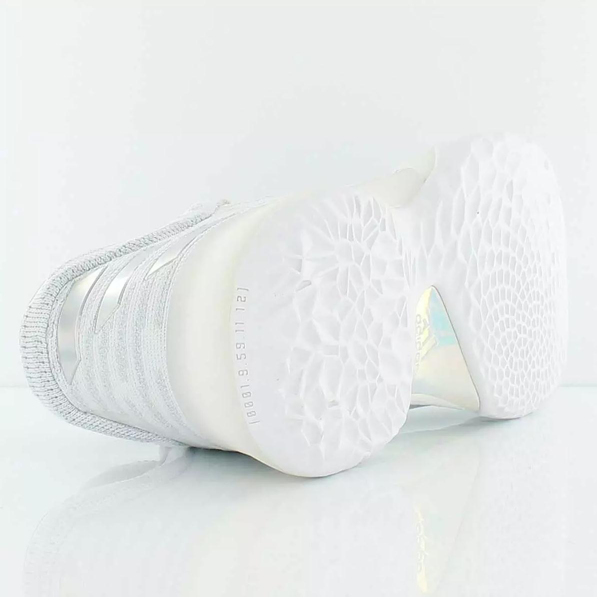 adidas harden vol. 1 primeknit all white 2