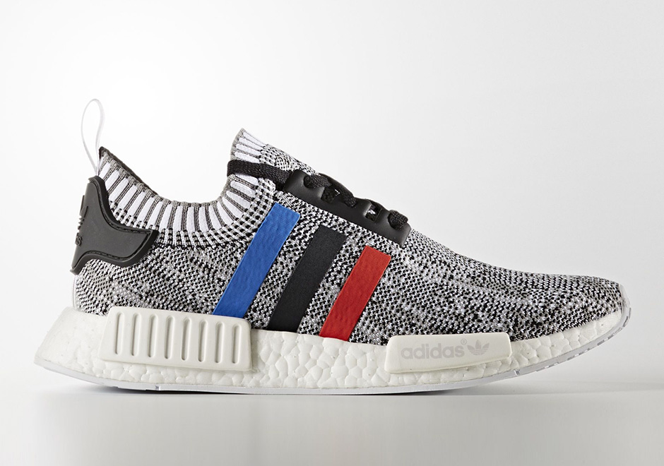 adidas NMD R1 Primeknit 'Tri Color Pack' with custom colored