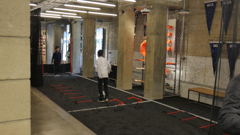 adidas nyc training area