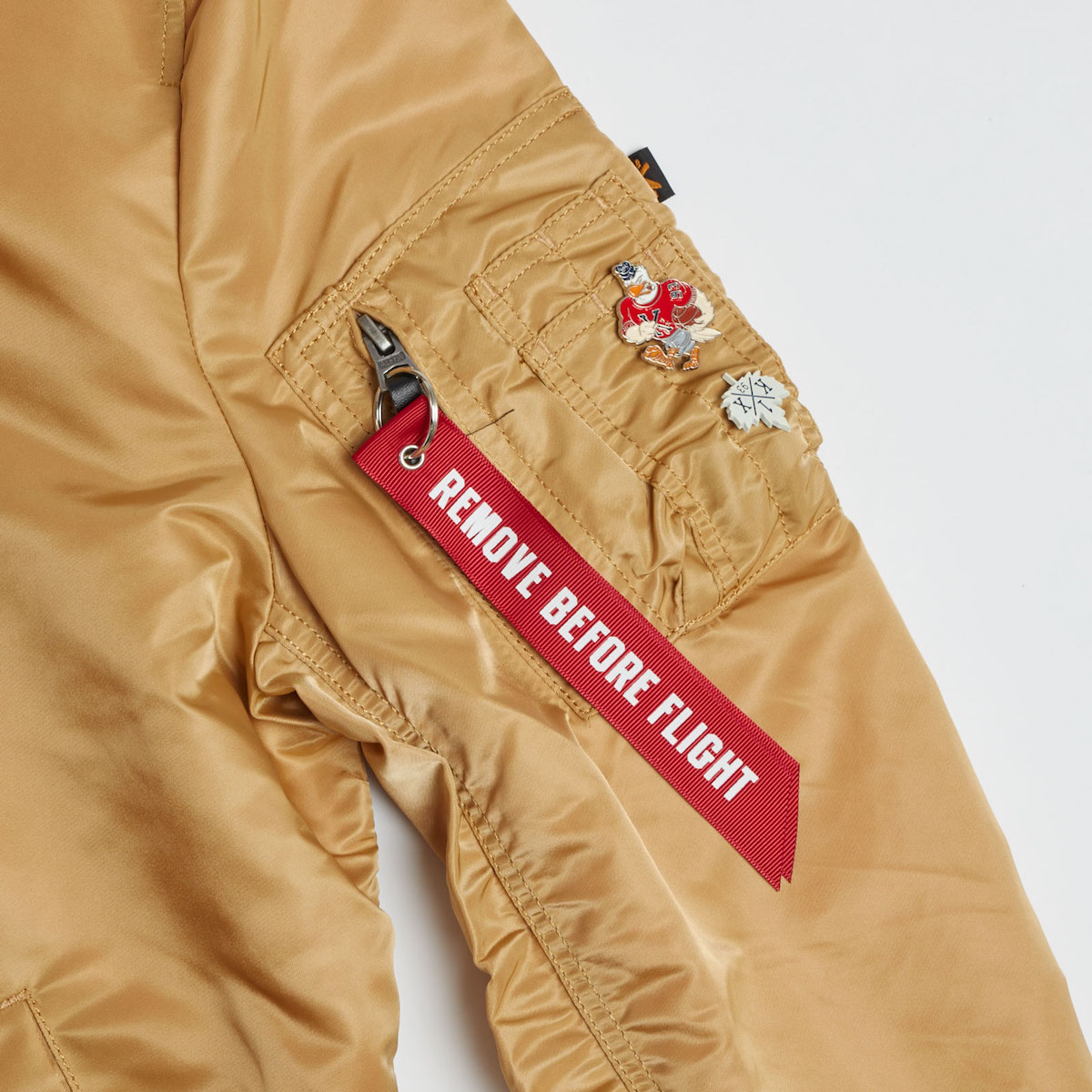 alpha industries x K1X gold rush pack 12