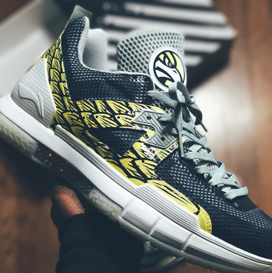 li-ning way of wade 5 golden eagle wow5 6
