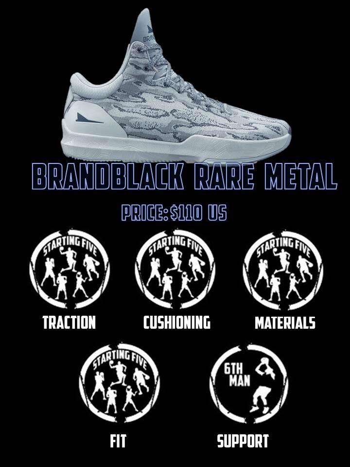 brandblack rare metal duke4005 scorecard
