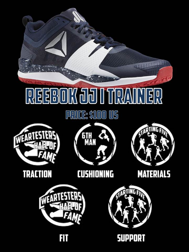 reebok JJ I trainer performance review scorecard