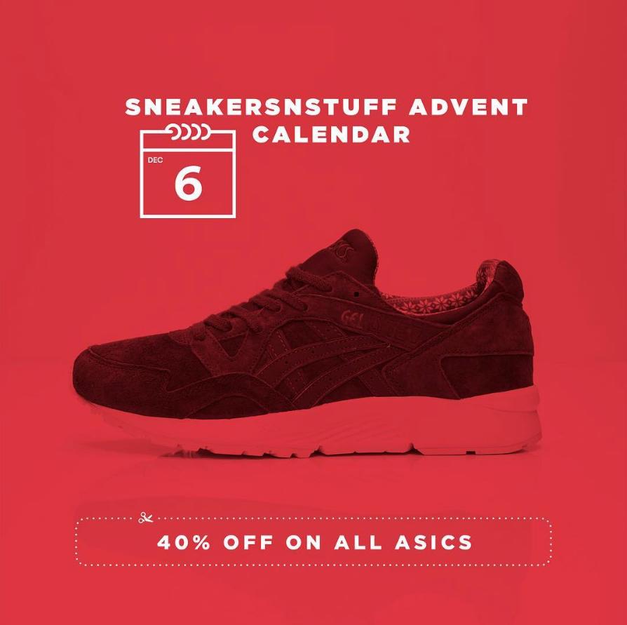 sneakersnstuff 40 off asics 1