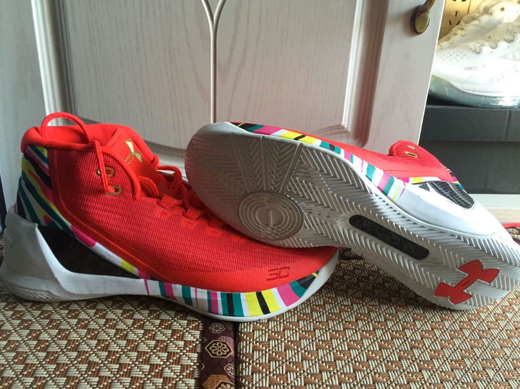 Under Armour Curry 3 'Chinese New