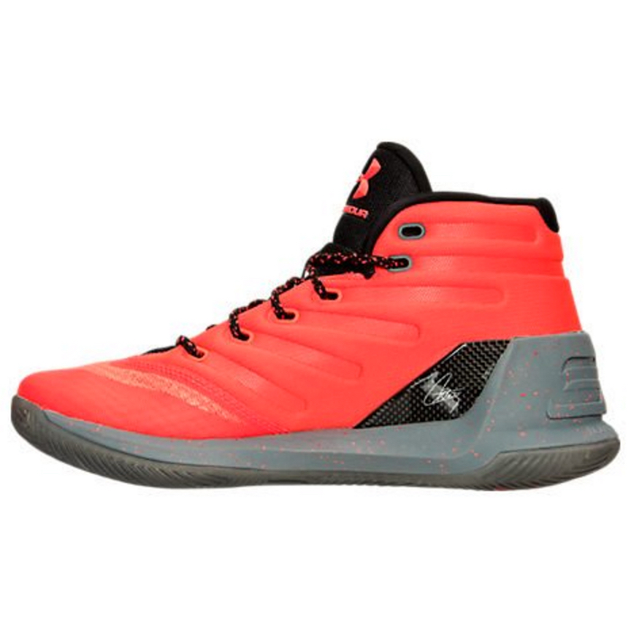 under armour curry 3 red hot santa 2