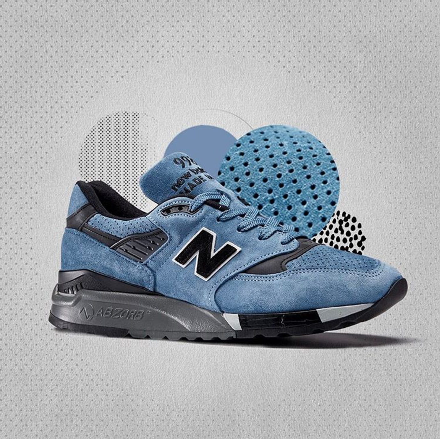 new balance nb1 perforated suede 2